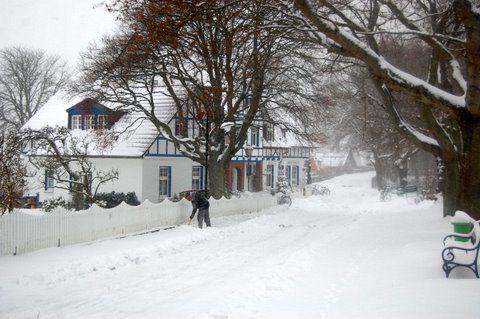 Winter auf Hiddensee